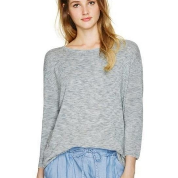 Aritzia Wilfred Blanchard Ribbed Space Dye Sweater